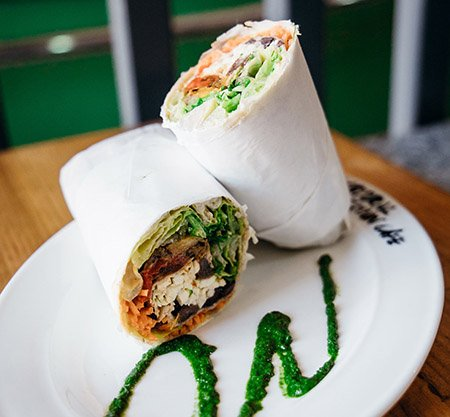 Wrap by Natural Temptation Cafe